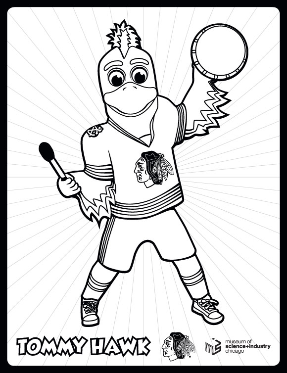 chicago cubs mascot coloring pages - photo#37