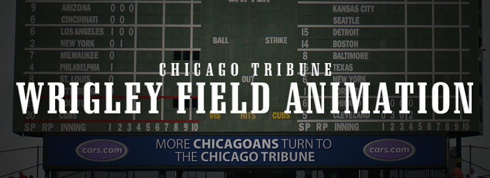 Wrigley Field LED Animation